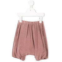 Opililai pom-pom embellished trousers - Pink & Purple