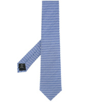 Gieves & Hawkes classic woven tie - Blue