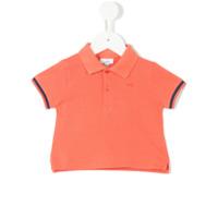 Knot piquet polo shirt - Yellow & Orange