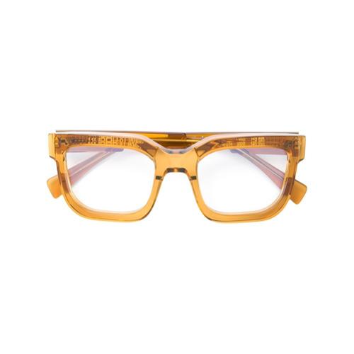 Billede af Kuboraum classic square glasses - Brown