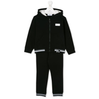 Young Versace classic tracksuit set - Black