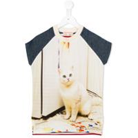Anne Kurris Jane Art Cat dress - Nude & Neutrals