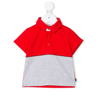 Givenchy Kids color block polo shirt - Red