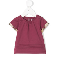 Burberry Kids Gisselle top - Pink & Purple