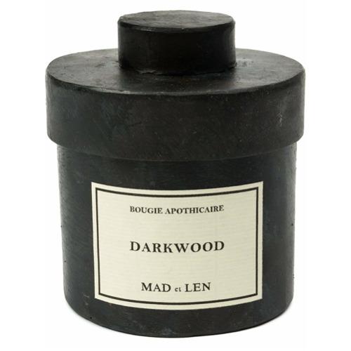 Billede af Mad Et Len 'Darkwood' candle - Black