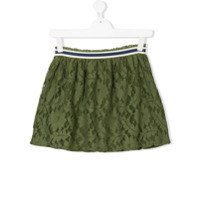 Bellerose Kids TEEN floral lace patterned skirt - Green