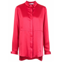 Gloria Coelho panelled shirt - Red