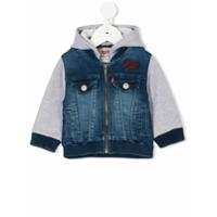 Levi's Kids layered-look denim jacket - Blue