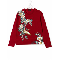 Dsquared2 Kids floral print top