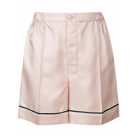 Prada satin pijama shorts - Pink & Purple