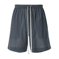 Rick Owens elastic waist shorts - Green
