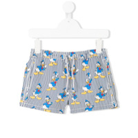Mc2 Saint Barth Kids Donald Duck swim shorts - Blue