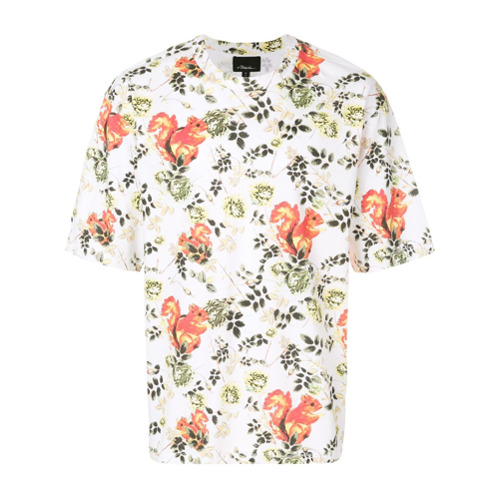 Bild på 3.1 Phillip Lim Animal-print souvenir T-shirt - Multicolour