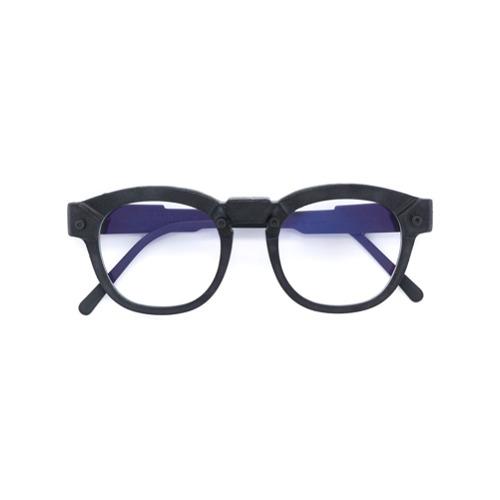 Billede af Kuboraum burnt round glasses - Black