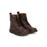 Pèpè lace up ankle boots - Brown