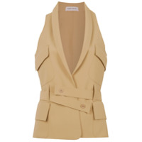 Gloria Coelho Street Blazer - Yellow & Orange