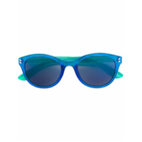 Stella Mccartney Kids round frame sunglasses - Blue