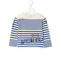 Burberry Kids illustrated print top - Blue
