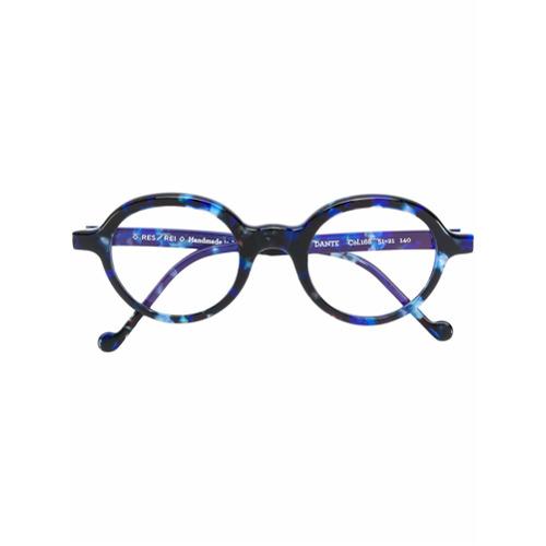 Bild på Res Rei patterned round glasses - Blue