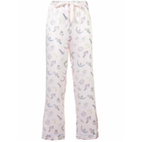 Morgan Lane Chantal pyjama trousers - Nude & Neutrals