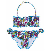 Mc2 Saint Barth Kids Emy bikini set - Multicolour