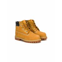 Timberland Kids 6 inch premium boots - Yellow & Orange