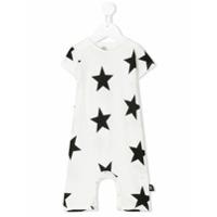 Nununu star print tracksuit - White