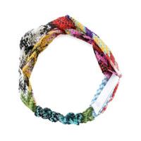 Missoni knitted headband - Multicolour