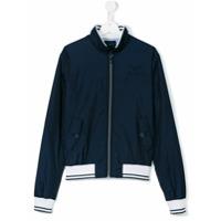 Aston Martin Kids teen zip-up jacket - Blue