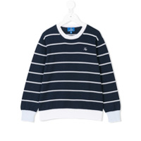Fay Kids striped sweater - Blue
