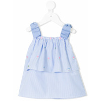 Lapin House striped sleeveless top - Blue