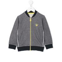 Armani Junior front zip jacket - Blue