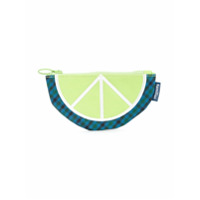 Familiar lime wedge clutch - Green
