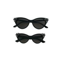 Monnalisa cat eye sunglasses - Black