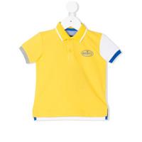 Bugatti Kids color block polo shirt - Yellow & Orange