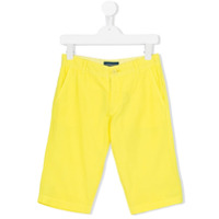 Aston Martin Kids classic bermudas - Yellow & Orange