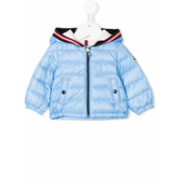 Moncler Kids padded hooded jacket - Blue