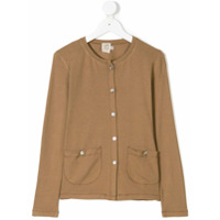 Caffe' D'orzo TEEN Sole knitted cardigan - Brown