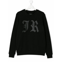 John Richmond Kids TEEN JR motif sweatshirt - Black