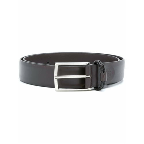 Canali classic buckled belt - Brown