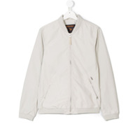 Woolrich Kids classic bomber jacket - Nude & Neutrals