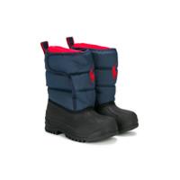 Ralph Lauren Kids Hamilten II EZ winter boots - Blue