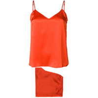 Equipment two-piece camisole set - Yellow & Orange