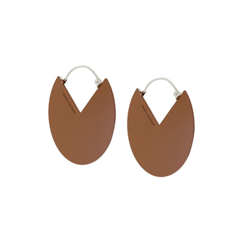 Bild på Isabel Marant abstract earrings - Brown