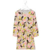 Anne Kurris Cat print dress - Multicolour