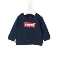 Levi's Kids logo printed sweatshirt - Blue