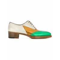 Walter Van Beirendonck metallic oxfords - Multicolour