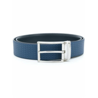 Canali reversible buckled belt - Blue