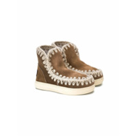 Mou Kids Summer Eskimo boots - Brown
