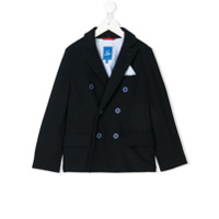 Fay Kids double breasted blazer - Black